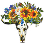 Sunflowers Graphic Decal - Custom Sizes (Personalized)
