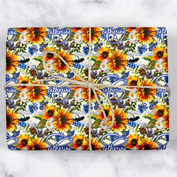 Sunflowers Wrapping Paper (Personalized)