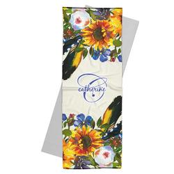 Sunflowers Yoga Mat Towel (Personalized)