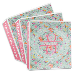 Exquisite Chintz 3-Ring Binder (Personalized)