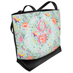 Exquisite Chintz Beach Tote Bag (Personalized)