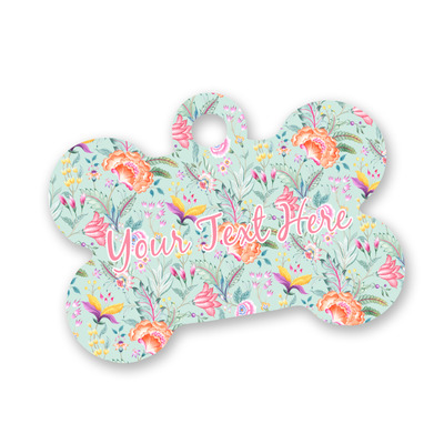 Exquisite Chintz Bone Shaped Dog Tag (Personalized)