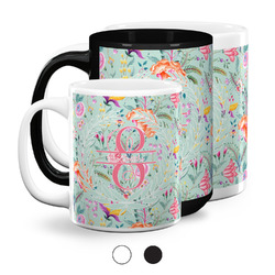 Exquisite Chintz Coffee Mugs (Personalized)