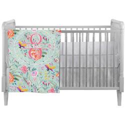 Exquisite Chintz Crib Comforter / Quilt (Personalized)