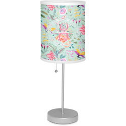 "Exquisite Chintz 7"" Drum Lamp with Shade (Personalized)"