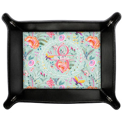 Exquisite Chintz Genuine Leather Valet Tray (Personalized)