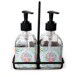 Exquisite Chintz Glass Soap & Lotion Bottles (Personalized)