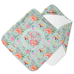 Exquisite Chintz Hooded Baby Towel (Personalized)