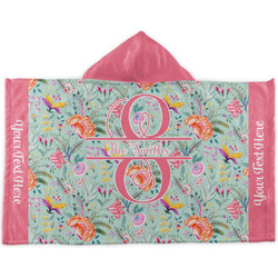 Exquisite Chintz Kids Hooded Towel (Personalized)