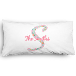 Exquisite Chintz Pillow Case - King - Graphic (Personalized)