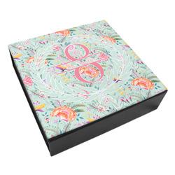 Exquisite Chintz Leatherette Keepsake Box - 3 Sizes (Personalized)