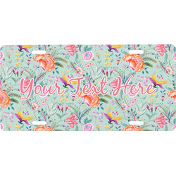 Exquisite Chintz Front License Plate (Personalized)