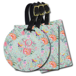 Exquisite Chintz Plastic Luggage Tags (Personalized)