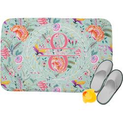 Exquisite Chintz Memory Foam Bath Mat (Personalized)