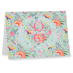 Exquisite Chintz Notecards (Personalized)