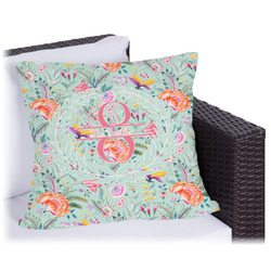 Exquisite Chintz Outdoor Pillow (Personalized)