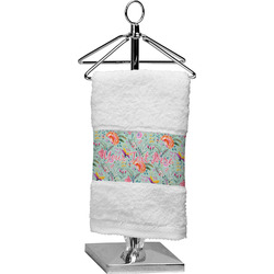 Exquisite Chintz Finger Tip Towel (Personalized)