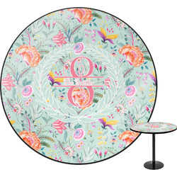 Exquisite Chintz Round Table (Personalized)
