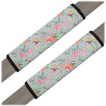 Exquisite Chintz Seat Belt Covers (Set of 2) (Personalized)