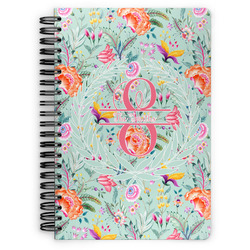 Exquisite Chintz Spiral Notebook (Personalized)