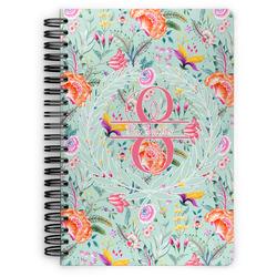 Exquisite Chintz Spiral Bound Notebook (Personalized)