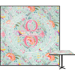 Exquisite Chintz Square Table Top (Personalized)