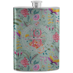 Exquisite Chintz Stainless Steel Flask (Personalized)