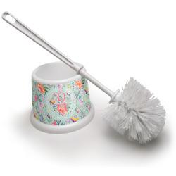 Exquisite Chintz Toilet Brush (Personalized)