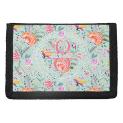 Exquisite Chintz Trifold Wallet (Personalized)