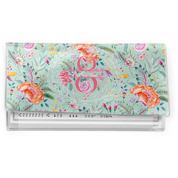 Exquisite Chintz Vinyl Checkbook Cover (Personalized)