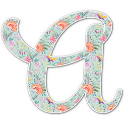 Exquisite Chintz Letter Decal - Custom Sizes (Personalized)