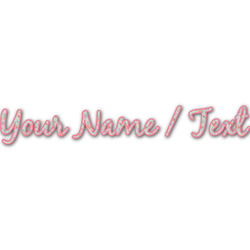 Exquisite Chintz Name/Text Decal - Custom Sizes (Personalized)