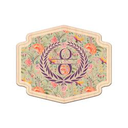 Exquisite Chintz Genuine Maple or Cherry Wood Sticker (Personalized)