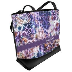 Tie Dye Beach Tote Bag (Personalized)