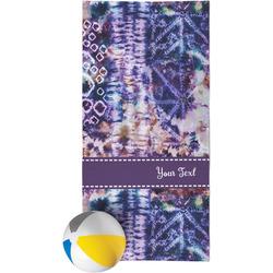 Tie Dye Beach Towel (Personalized)