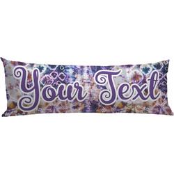 Tie Dye Body Pillow Case (Personalized)