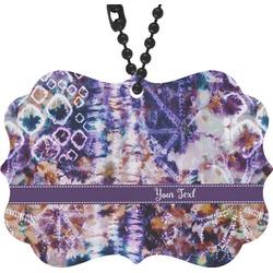 Tie Dye Rear View Mirror Decor (Personalized)