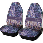 Tie Dye Car Seat Covers (Set of Two) (Personalized)