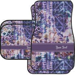 Tie Dye Car Floor Mats (Personalized)