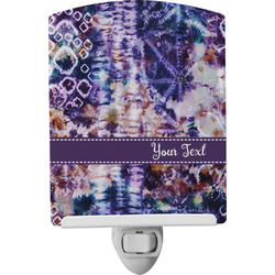 Tie Dye Ceramic Night Light (Personalized)