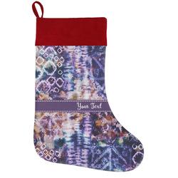 Tie Dye Holiday Stocking w/ Name or Text