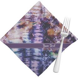 Tie Dye Cloth Napkins (Set of 4) (Personalized)