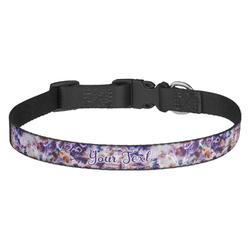 Tie Dye Dog Collar (Personalized)