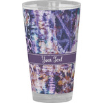 Tie Dye Drinking / Pint Glass (Personalized)