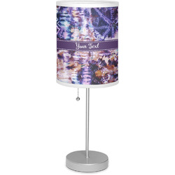 """Tie Dye 7"""" Drum Lamp with Shade (Personalized)"""