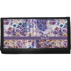 Tie Dye Canvas Checkbook Cover (Personalized)