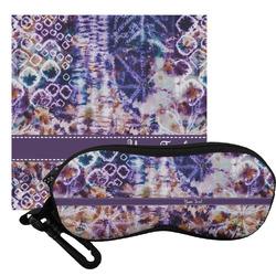 Tie Dye Eyeglass Case & Cloth (Personalized)