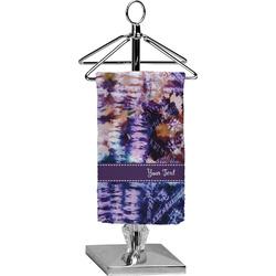 Tie Dye Finger Tip Towel - Full Print (Personalized)