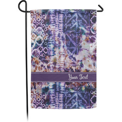 Tie Dye Garden Flag - Single or Double Sided (Personalized)