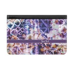 Tie Dye Genuine Leather ID & Card Wallet - Slim Style (Personalized)